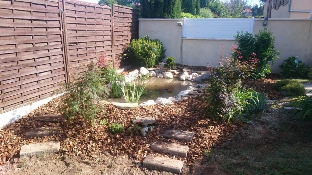 Création d'un bassin aquatique à Grigny