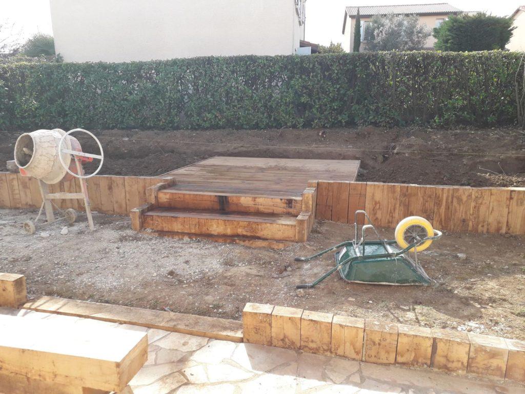 """Création d'un jardin dit """"babylonien"""""""