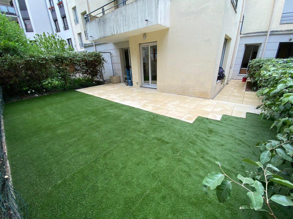 Aménagement d'un jardin à Lyon