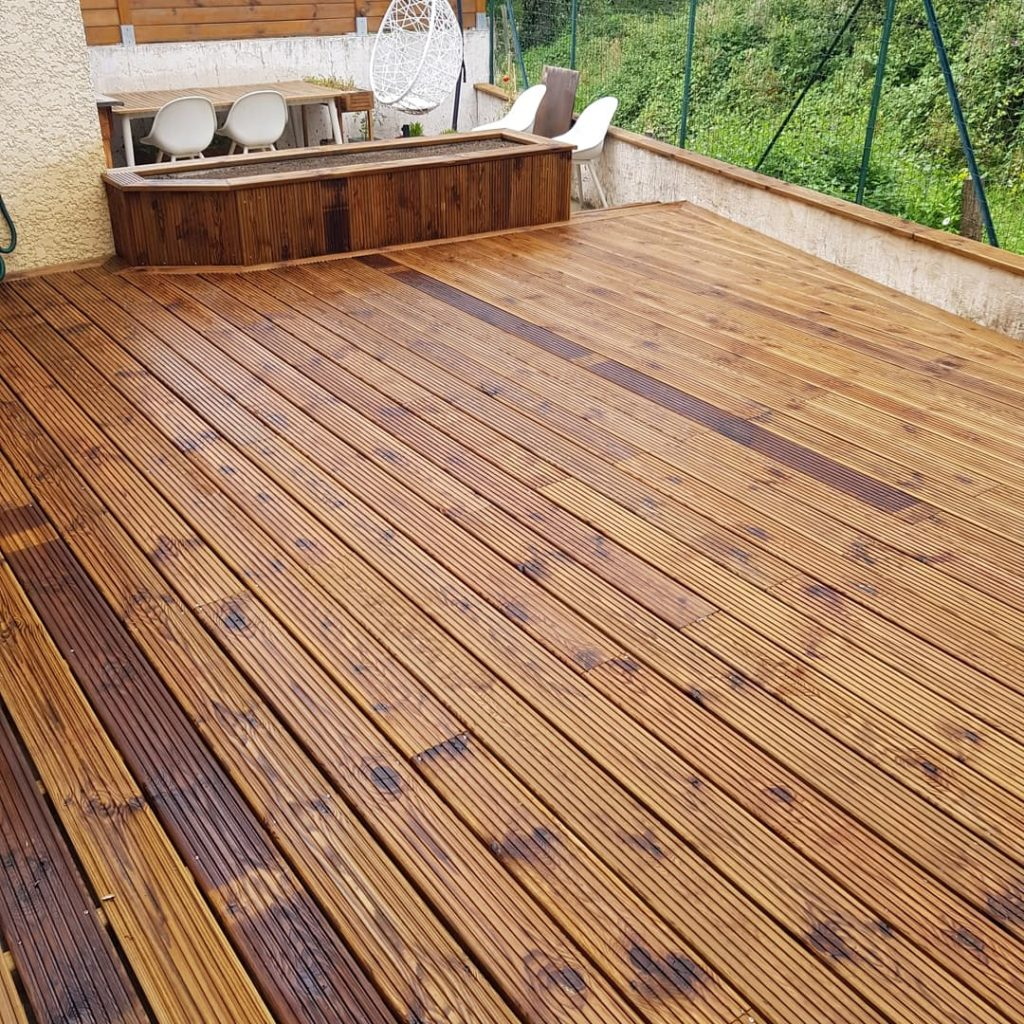 Un projet de terrasse en bois
